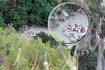 Nejméně osm turistů zahynulo v národním parku na jihu Itálie