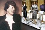 Uměleckoprůmyslové muzeum vystavuje šaty prvorepublikové návrhářky Hany Podolské.