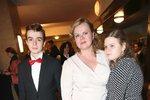 Sabina Remundová s dcerou Adinou a synem Vincentem