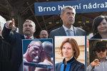 Babišovu favoritovi jdou po krku mafián, advokátka i kickboxer. Brno čeká volební řež