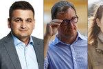 Duely Blesku: Utkají se policejní exšéf, souzený Rath i bývalá mluvčí ČSSD