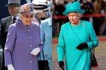 Královna Alžběta je velkou milovnicí barev.