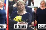 Skromný šatník Ivany Zemanové: První dáma nosí jedny šaty a perly stále dokola