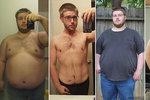 Neuvěřitelná proměna muže (30), který se zabíjel jídlem: Zhubl 70 kg a změnil se k nepoznání!