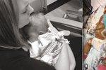 Nemocná holčička (†8 měs.) se transplantace nedočkala: Dojemnou fotkou chce matka změnit svět