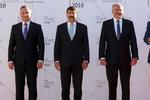 Zeman vyrazil do Tater. S prezidenty Slovenska, Maďarska a Polska řeší osud EU