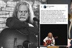 Zdrcený táta Lucky Vondráčkové: Zemřel na jevišti, píše o mrtvém kamarádovi Tomáši Berkovi (†50)