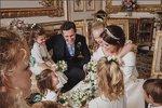 Princezna Eugenie zveřejnila unikátní snímek ze zákulisí své svatby