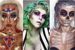 Nejlepší halloweenské makeupy