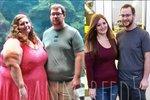 Lexi a Danny společně zhubli sto pětašedesát kilogramů.