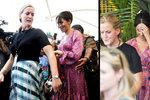 Těhotnou Meghan musela davu vytrhnout její pistolnice! Návštěva Fiji se zvrtla