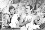 Belmondo a Delon byli přátelé, přestože o nich média psala jako o rivalech.