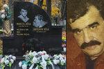 Hrob zastřeleného kmotra Antonína Běly (†52): Drsný vzkaz na věnci
