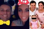 """Růžičkovi po překonané krizi: Znovu si fotí infantilní selfíčka! Jako rodina """"mikymauzů""""!"""