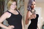 Nicole dokázala zhubnout pětačtyřicet kilogramů.