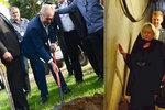Zeman s Ivanou prošel tunelem teroristů. A schytal kritiku za čínské pandy, které nebudou