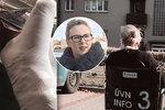 Tereza Černochová se zlomenou nohou: Naše zdravotnictví je katastrofa!