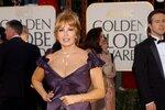 Sexy Raquel Welch na předávání Zlatých glóbů v roce 2005.