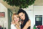 Agáta Prachařová s matkou Veronikou Žilkovou.