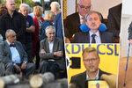 Sanitka pro Schwarzenberga i Zeman myslící na svůj konec: Trable politiků v roce 2018