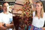 Plekanec slaví Vánoce uprostřed rozvodové bitvy: A jak jsou na tom další hvězdy?