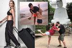 Celebrity prchají do tepla! Pártlová s tajným milencem na Bali, Jandová v Saigonu
