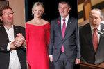Babiš řeší rodinu, Klaus ml. i Pospíšil hubnou: Co si politici přejí v roce 2019