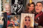 Bujaré veselí slavných: Jak oslavily konec roku 2018 české celebrity?