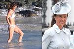 Pippa Middleton dva měsíce po porodu: Ukázala postavu v plavkách!