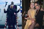 Nový rok u slavných: Victorii Beckham zachraňuje víno, Helenu Vondráčkovou berle. A koho hřeje láska?