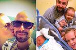 Soukup se stal potřetí otcem! A opět je to kluk s tradičním jménem