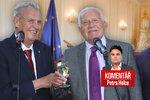 Komentář: Bude příště prezidentem Klaus, nebo Klaus? Zeman chválí tátu i syna
