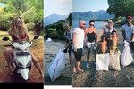 Krainová vyměnila luxus za špínu: Na Bali sbírá odpadky!