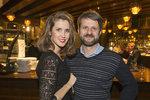 Jana Bernášková (37) s manželem Rudolfem Merknerem (47).