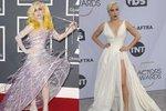 Na obou fotkách je jedna žena. Lady Gaga svůj styl opravdu hodně změnila.