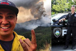 Proběhl ohněm, aby si zachránil život. Pro osoby s trvalými následky je nyní inspirací