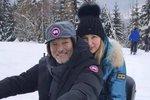 Gott definitivně vyvrátil zvěsti o úmrtí: Na horách řádí s manželkou Ivanou!