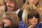 David Beckham zveřejnil na svém Instagramu parodii na účes své dcery a šéfky Vogue Anny Wintour