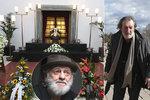 Pohřeb Jiřího Pechy (†74): Polívka, Strach a Donutil se usmívali při vzkazu ze záhrobí