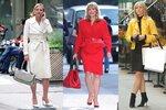 Samantha Jones předvedla mnoho skvělých outfitů.