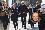 Nádherné sbohem pro velkého člověka: Pohřeb Stanislava Zindulky (†86) byl plný hvězd! Podívejte, kdo se objevil!