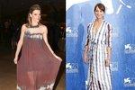 Batikované šaty nosí známé celebrity už léta.