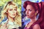 Poznáte slavné krásky v rolích Disney postaviček?