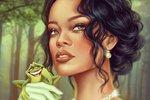 Rihanna jako Tiana (Princezna a žabák)