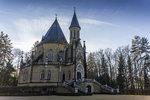 Dvoupatrová neogotická Schwarzenberská se nachází v anglickém parku kilometr a půl od Třeboně. Uvnitř si můžete prohlédnout kapli i kryptu.