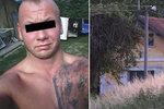 V Nemyčevsi střílel odsouzený recidivista! Seděl za pokus o vraždu