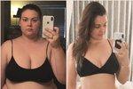 Sandie studuje medicínu a motivací zhubnout pro ni byli i její pacienti.