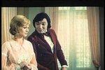 Hvězda padá vzhůru z roku 1974, to byl první film, kde si Karel zahrál dokonce hlavní roli.