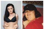 Při 133 kilogramech se necítila dobře. Její sebevědomí je dnes na tom však mnohem hůř.