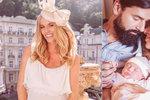 Zlatokopka z reklamy Nikol Moravcová porodila! Dcerka dostala neobvyklé jméno